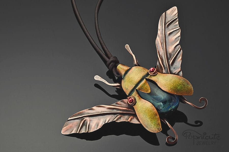 jewel beetle by popnicute jewelry