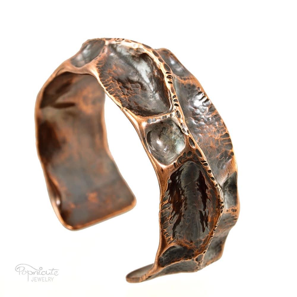 Handmade Copper Pipe Bracelet Medium Popnicute Jewelry