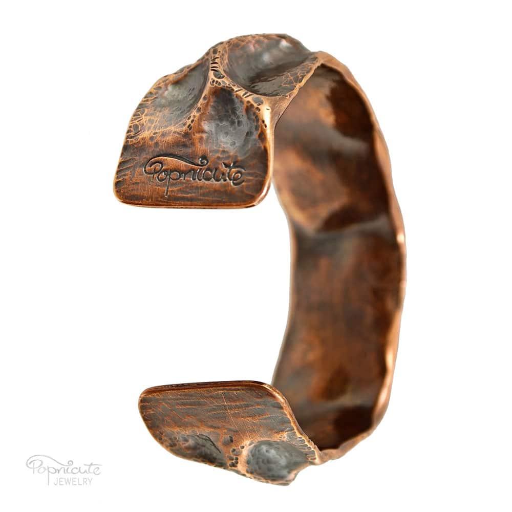 Spine Cuff Copper Bracelet by Popnicute Jewelry