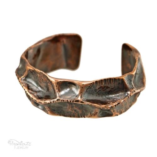 Spine Copper Cuff – Medium