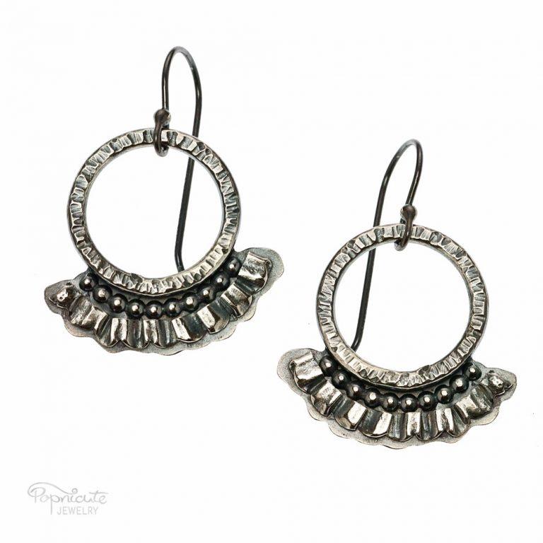 Frilly Hoops Earrings
