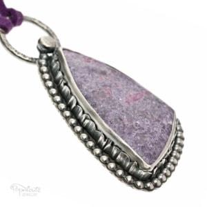 Purple Frill Pendant