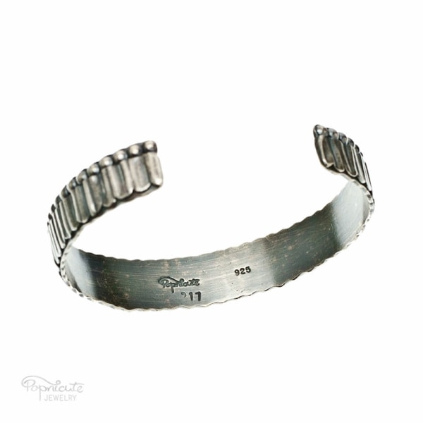 Unisex Skinny Sterling Silver Bangle by Popnicute Jewelry. Pre-order now. Preorder period: June 8 - 25, 2017. Product will ship July 10 - 17, 2017. Get bonus with pre-order purchase of $200!