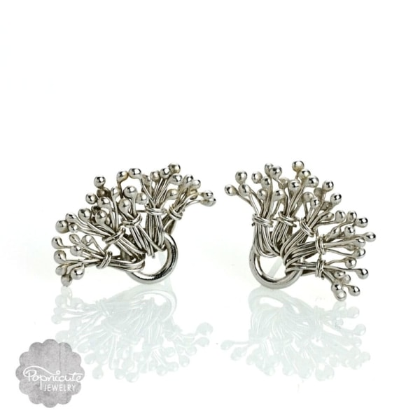 Dandelion Posts Earrings