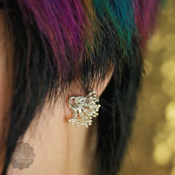 Dandelion Posts Earrings