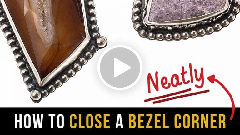 How to Bezel Set a Sharp Corner