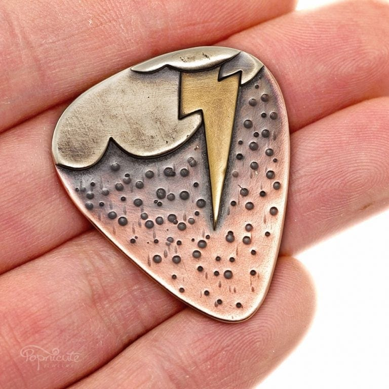 Stormy Summer Guitar Pick
