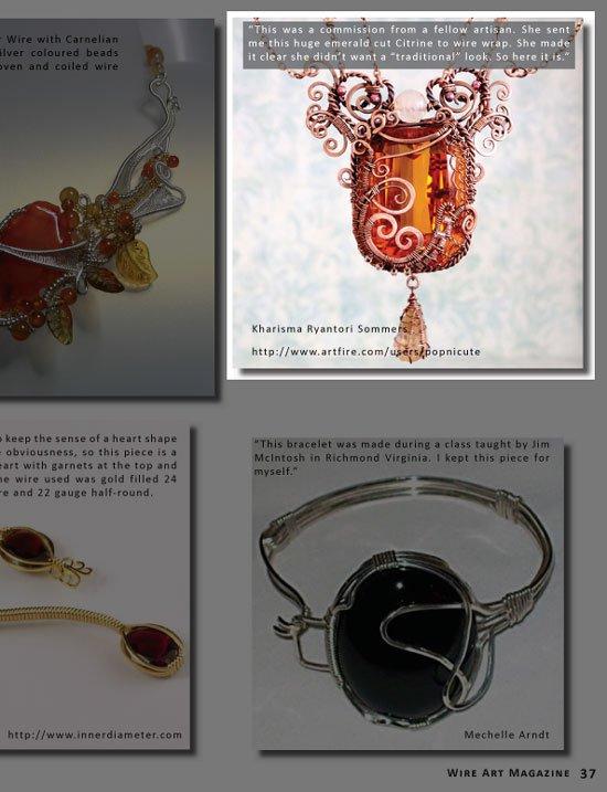 wire art magazine kharisma sommers popnicute jewelry