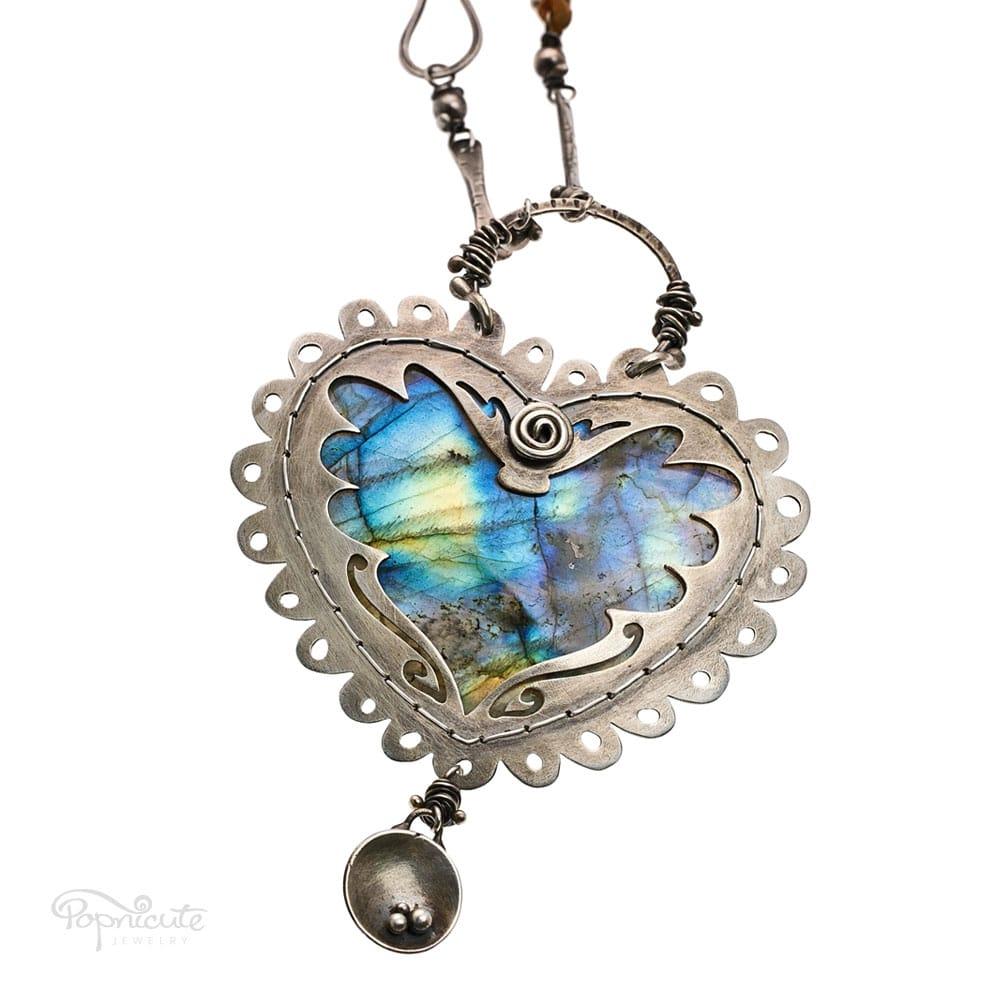 Heart of Doodle Popnicute Hearts by Popnicute Jewelry