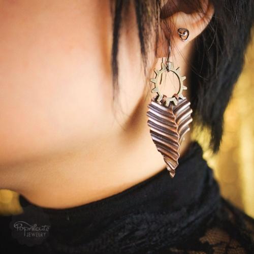 Cogwheel Steampunk Earrings