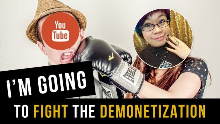 I'm Going to Fight YouTube Demonetization