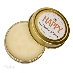 Happy Maker's Balm – Beeswax Balm Salve – Tin