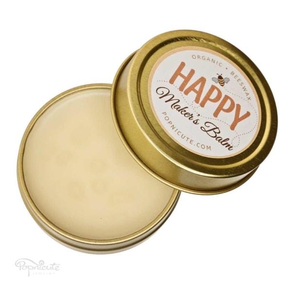 Happy Maker's Balm – Beeswax Balm Salve – Tin