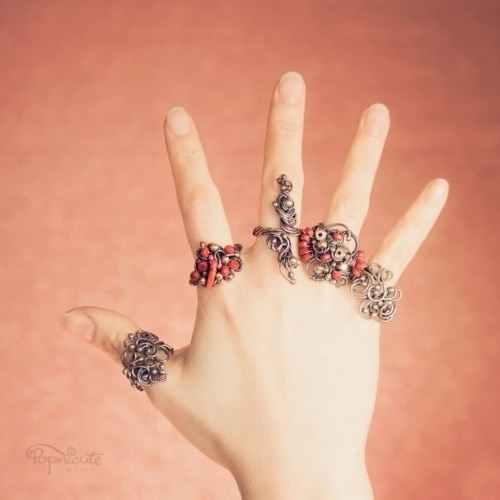Industrial Steampunk Ring – 7.5-8
