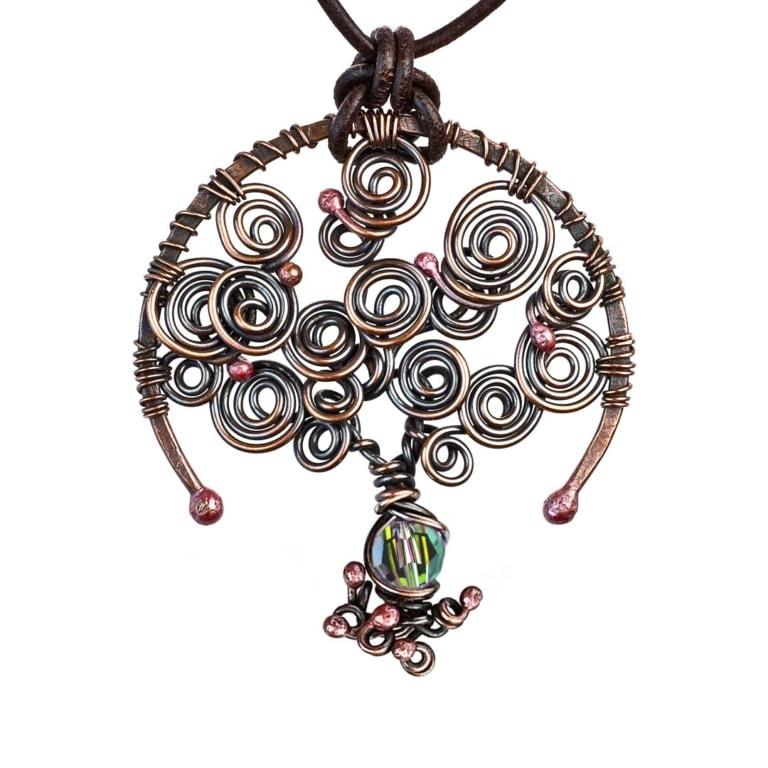 Alexandrite: June Birthstone Tree of Life Necklace