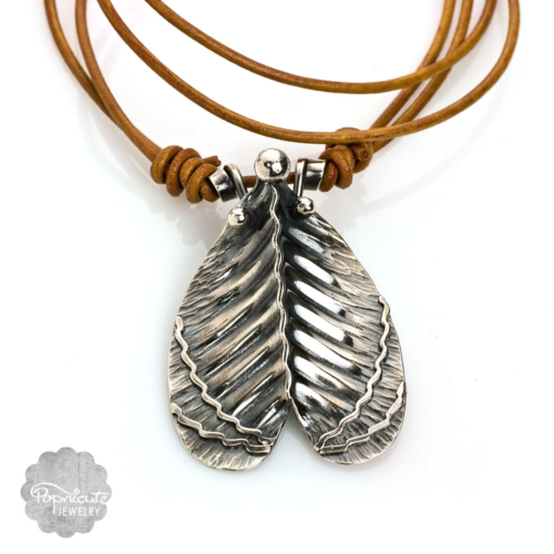 Imperial Moth Necklace