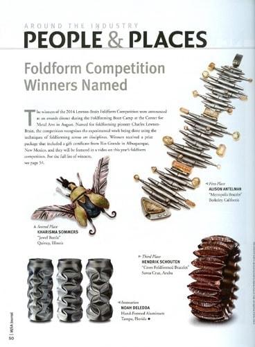 kharisma sommers foldforming winner jewel beetle