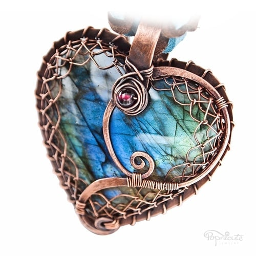 """""""Heart of Stella"""". Custom made and personalized heart pendant for Stella from Netherland."""
