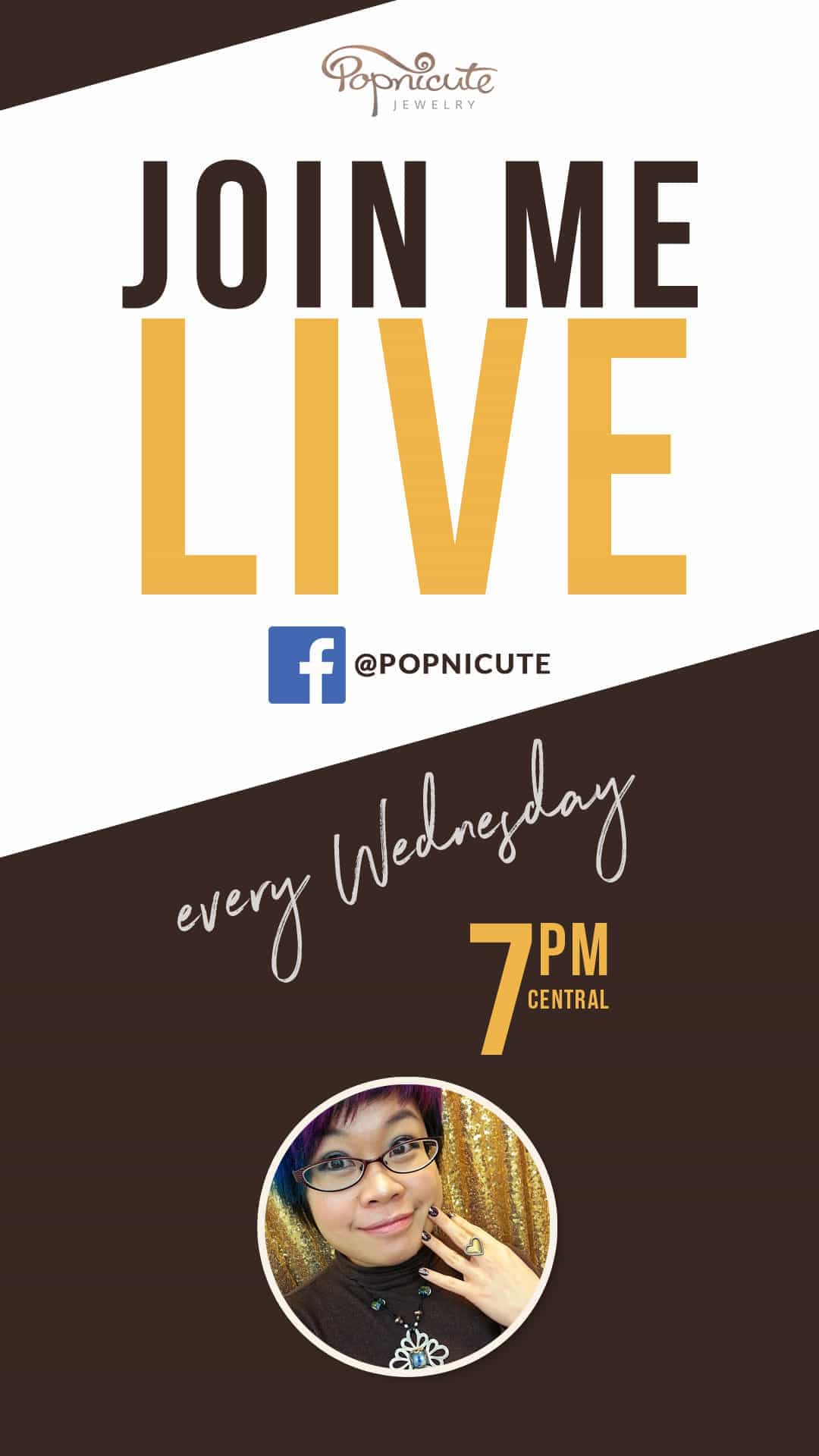 Join Kharisma Live on Facebook every Wednesday, 7 PM CST