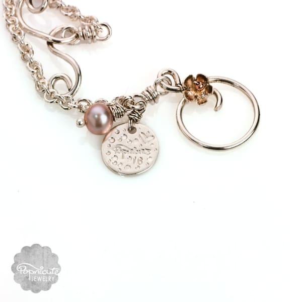 Handmade clasp for Mermaid's Treasure necklace.